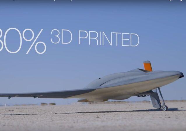 World's first jet-powered, 3D printed UAV