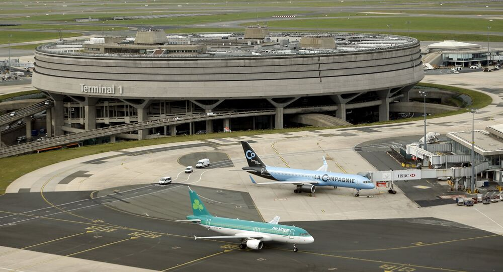 A general view shows the Terminal 1 at the Charles de Gaulle International Airport in Roissy, near Paris in this September 17, 2014 file photo