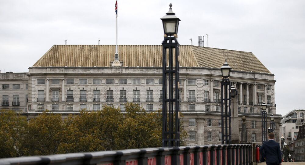 Thames House, the headquarters of the British Security Service (MI5) is seen in London, Britain October 22, 2015