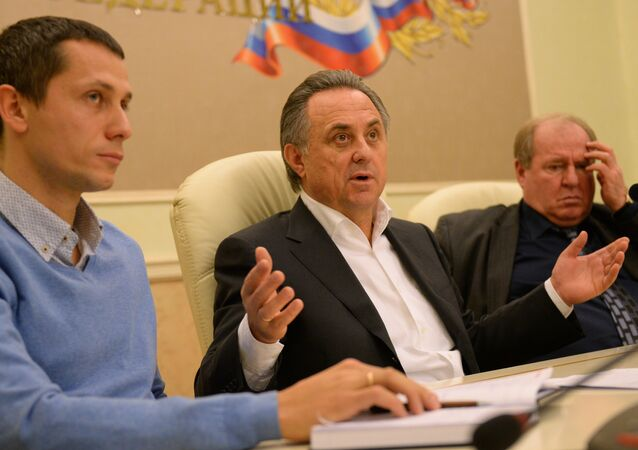 Russia's Sports Minister Vitaly Mutko said Sunday he hoped that during the All-Russia Athletic Federation (ARAF) suspension by the International Association of Athletics Federations (IAAF) Russian athletes would be able to compete at international competitions under the flag of the Russian Olympic Committee (ROC)