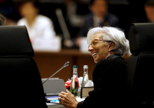 International Monetary Fund (IMF) Managing Director Christine Lagarde participates in a working session on the global economy with fellow world leaders at the start of the G20 summit at the Regnum Carya Resort in Antalya, Turkey, November 15, 2015