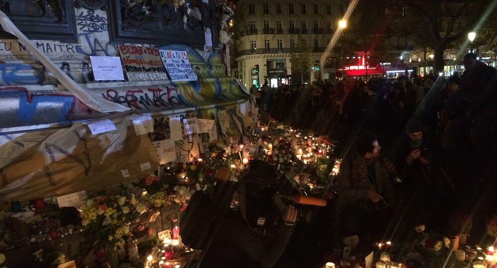 Place de la Republique in central Paris