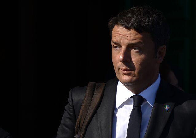 Italy's Prime minister Matteo Renzi