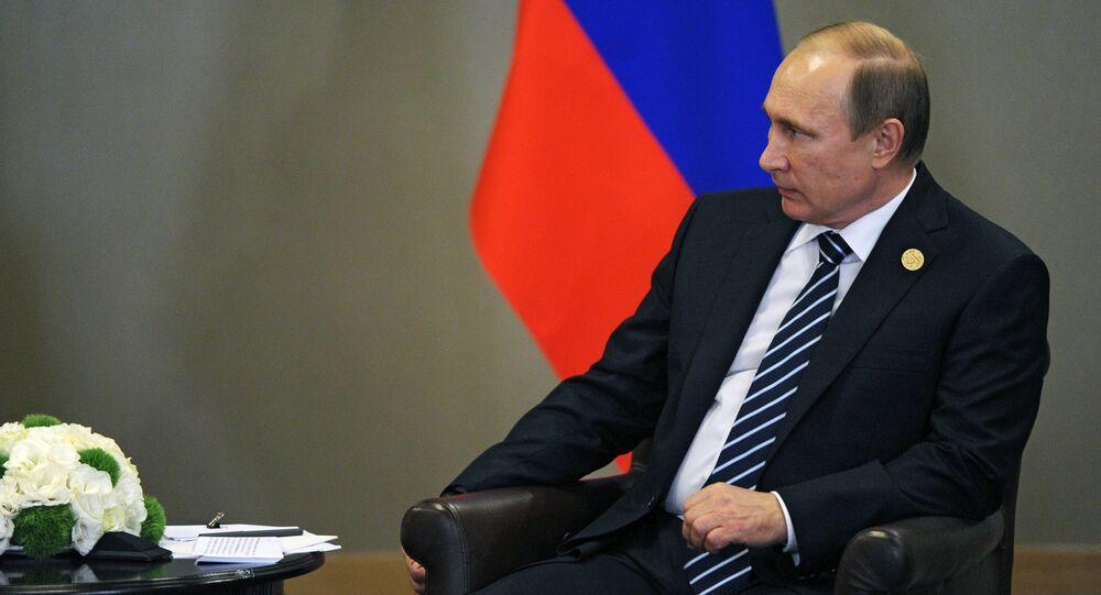 Vladimir Putin takes part in G20 summit in Turkey