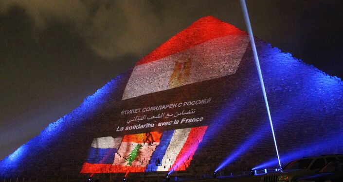 Memorial event for victims of Russian A321 crash and Paris terrorist attacks
