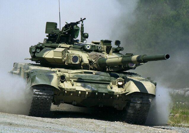 T-90S tank. File photo