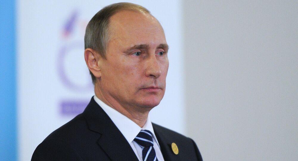 Russian President Vladimir Putin participates in G20 summit in Turkey