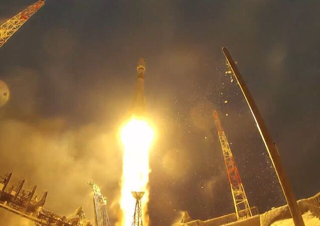 A Russian Soyuz-2.1b carrier rocket laden with the newest defense satellite was launched from the Plesetsk Cosmodrome in the country's northwest