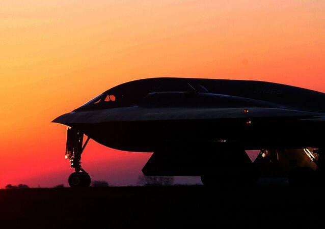 B-2 at Sunset