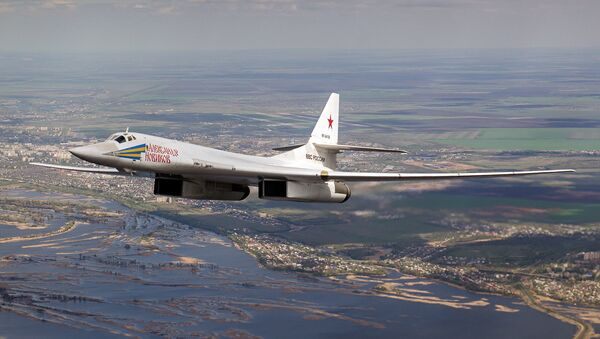 A Tupolev Tu-160 Blackjack strategic bomber - Sputnik International