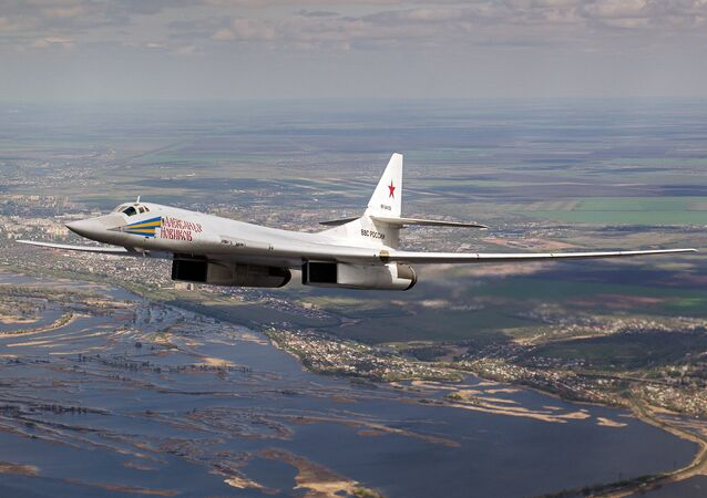 A Tupolev Tu-160 Blackjack strategic bomber