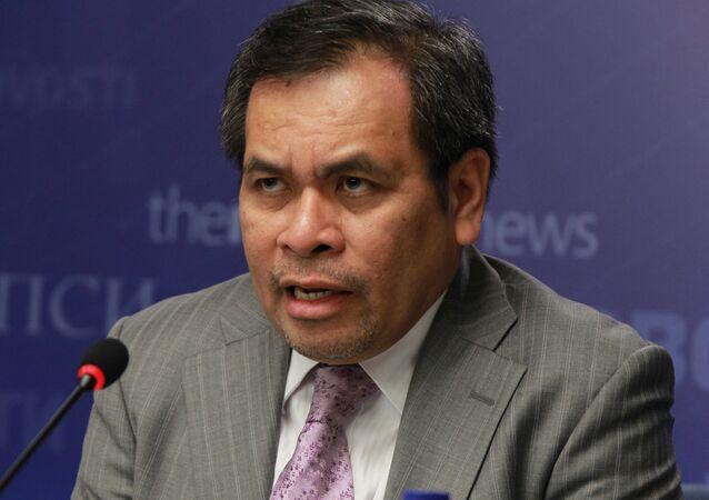 Indonesian Ambassador to Russia Djauhari Oratmangun