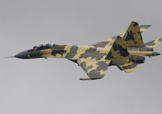 Multi-mission fighter SU-35