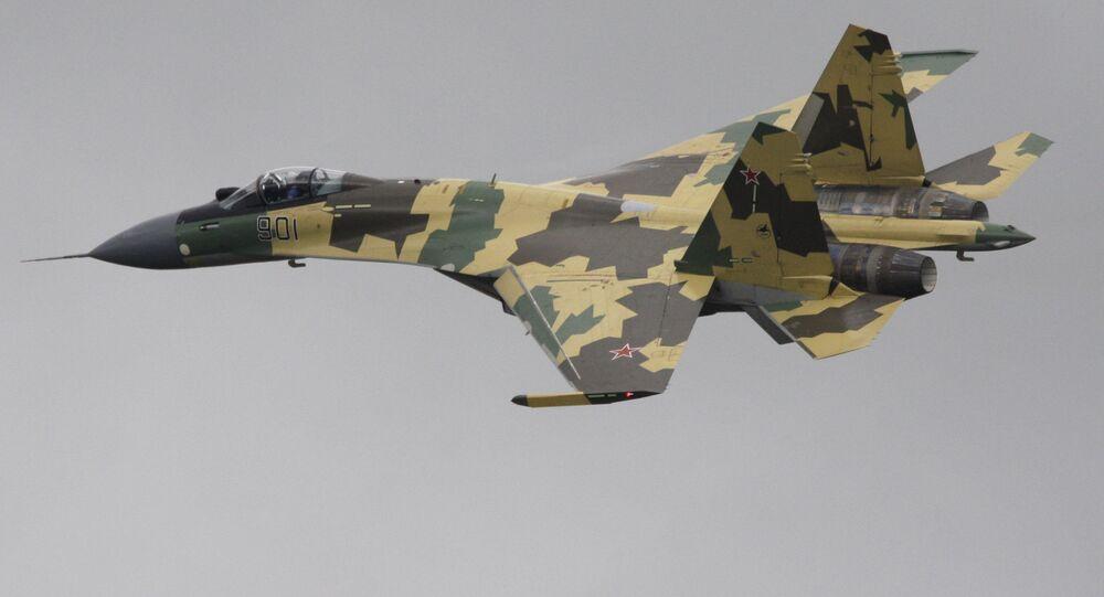 Multi-mission fighter SU-35