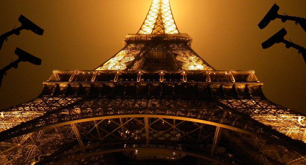 Eifel Tower under surveillance