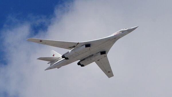 The Tu-160  strategic bomber - Sputnik International