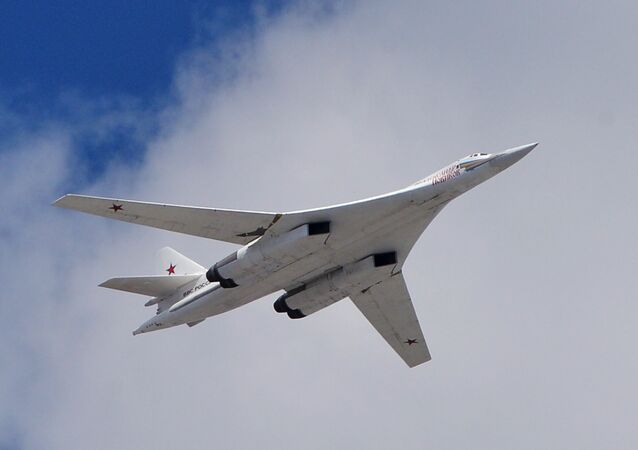 The Tu-160  strategic bomber