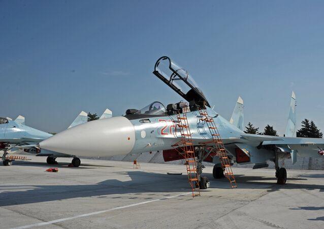 Sukhoi Su-30SM multirole fighter