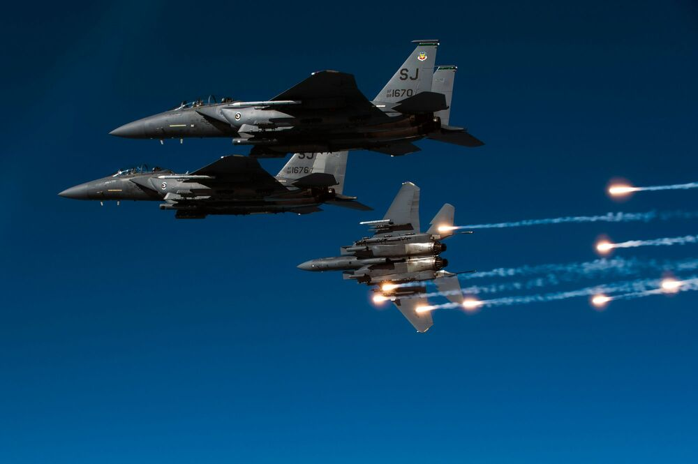 Aviation Aces: World's Fiercest Aircraft Put to the Test in Syria