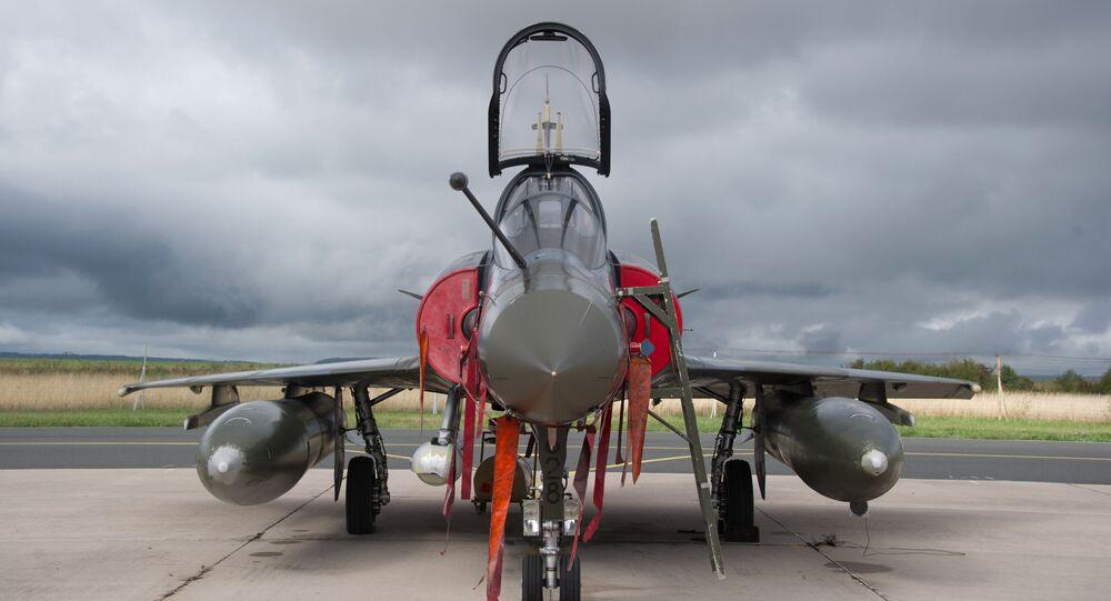 Dassault Mirage 2000D jet fighter
