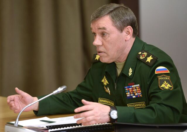 Chief of the General Staff of Russia's Armed Forces General Valery Gerasimov.
