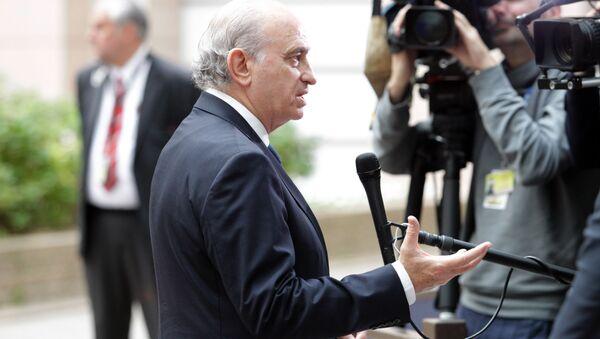 Spanish Minister Jorge Fernandez Diaz. - Sputnik International