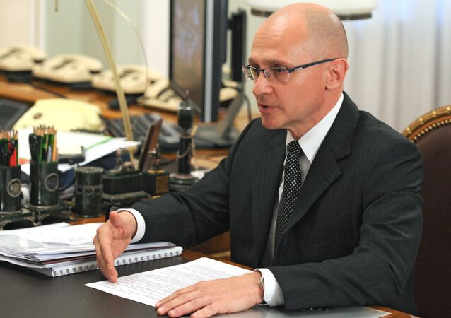Head of Rosatom Corporation Sergey Kirienko.