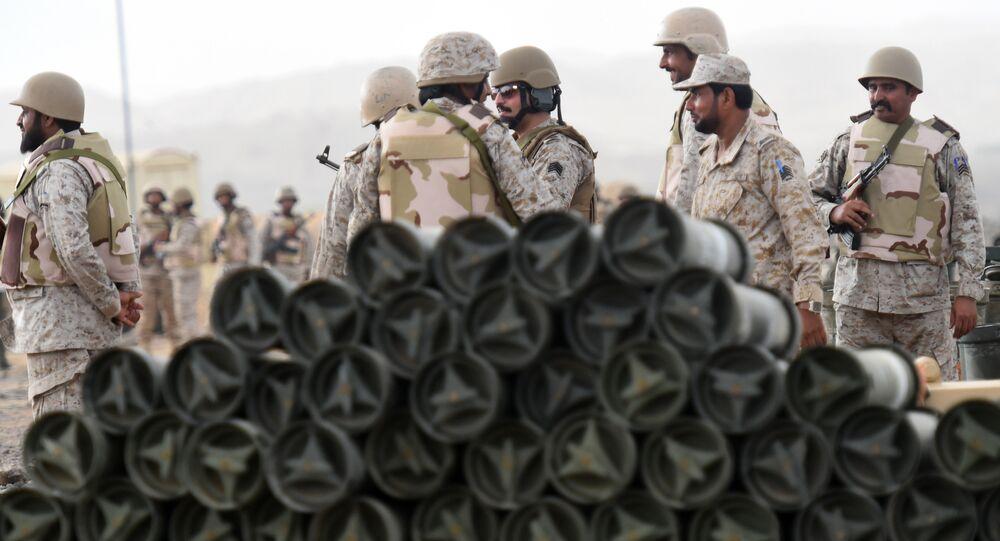 Saudi soldiers