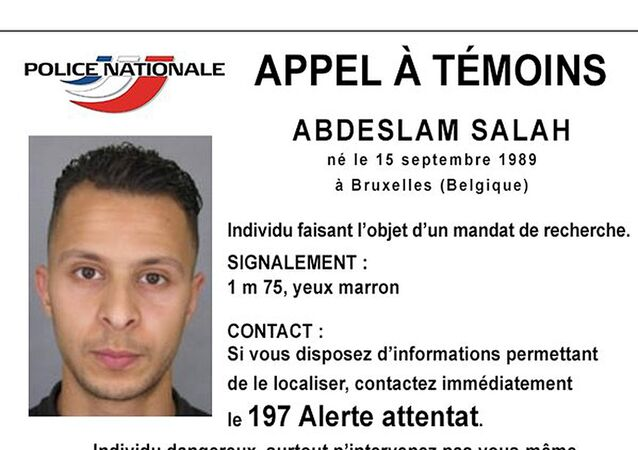 Handout picture shows Belgian-born Abdeslam Salah seen on a call for witnesses notice released by the French Police Nationale information services on their twitter account, November 15, 2015.