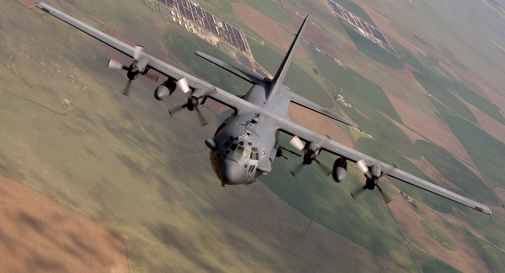 AC-130 Spectre from the 16th Special Operations Squadron flying a training mission at Cannon Air Force Base, N. M. Inside the intensive care unit of the Doctors Without Borders hospital in Northern Afghanistan in the early hours of Oct. 3, 2015
