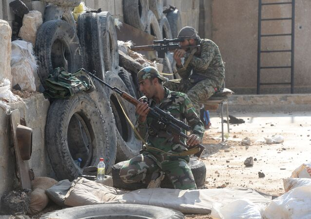 Syrian Arab Army's special operation in Douma, a Damascus suburb