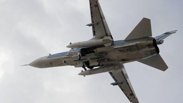 Russian aircraft at Latakia airport - Sputnik International