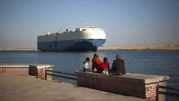 Suez Canal. - Sputnik International