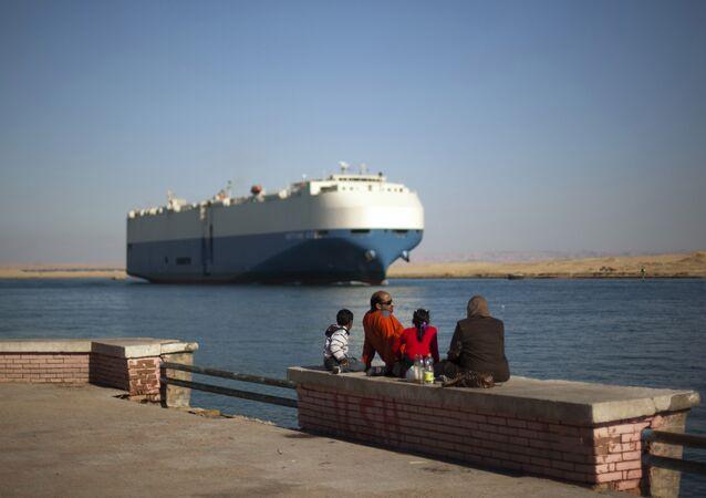 Suez Canal.