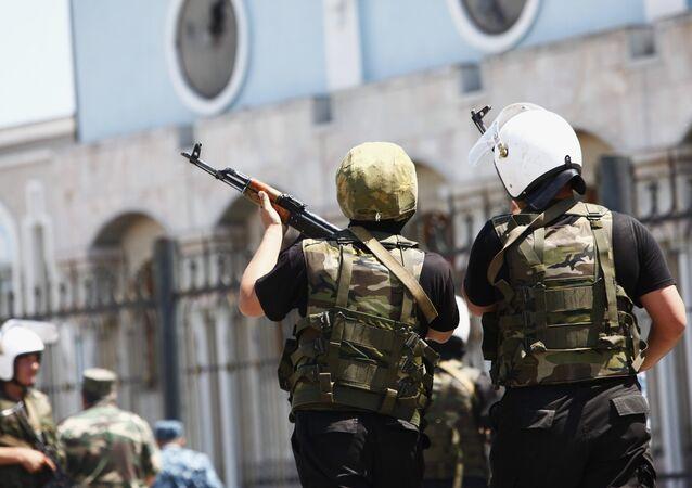 Police. Kyrgyzstan