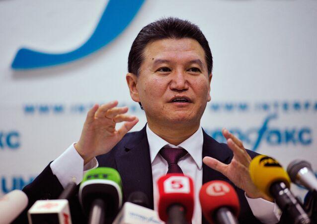Former president of the Russian Republic of Kalmykia Kirsan Ilyumzhinov