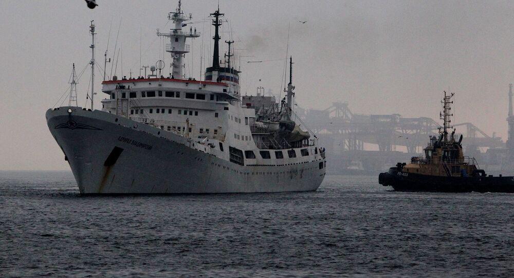 Admiral Vladimirsky research vessel