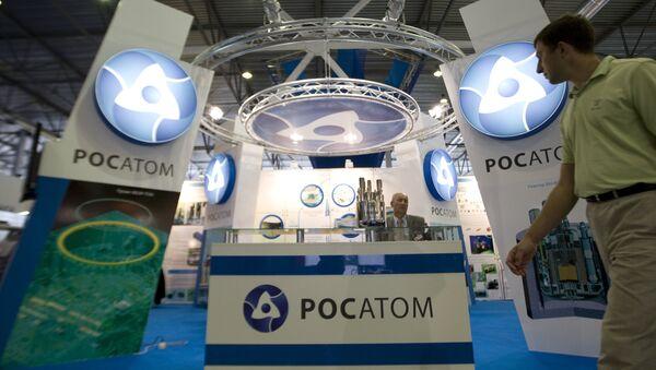 Rosatom state corporation's exhibition stand - Sputnik International