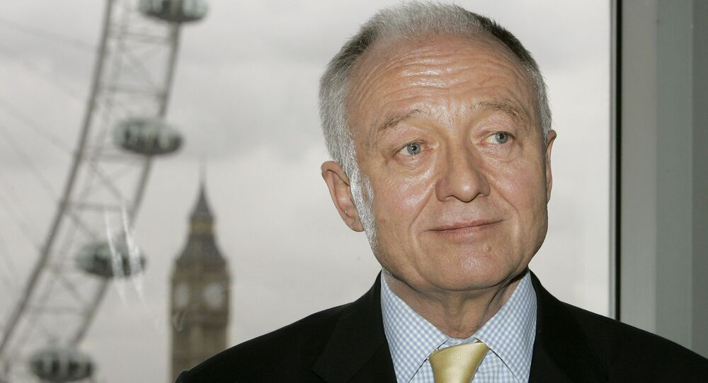 In this Tuesday, March 18, 2008 file picture Britain's former Mayor of London Ken Livingstone launches his bid for re-election in London, Tuesday, March 18, 2008.