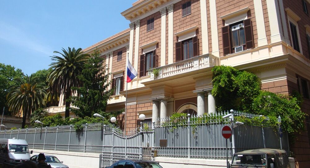 Russian Embassy in Italy