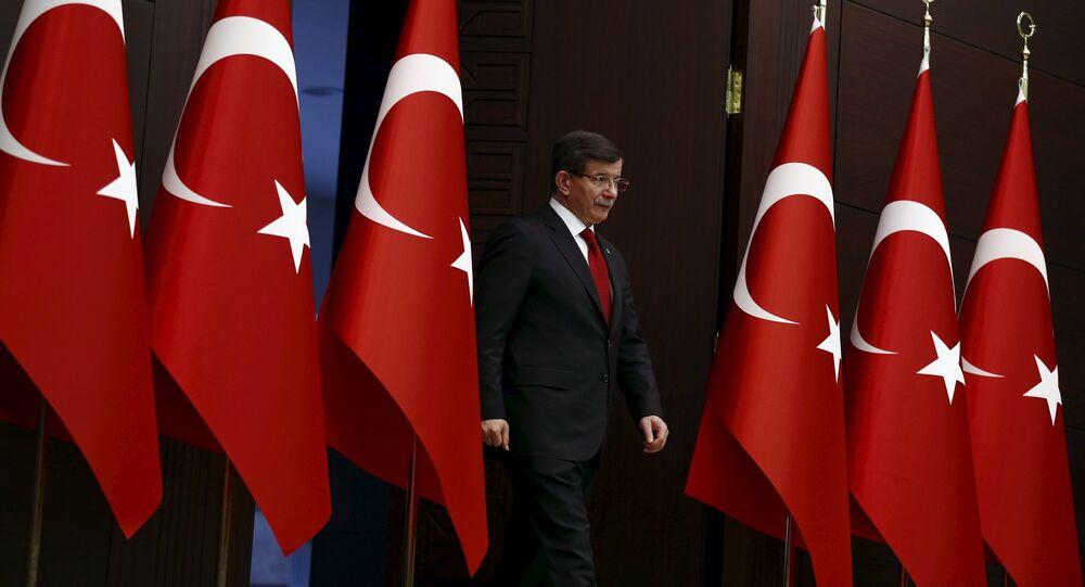 Turkish Prime Minister Davutoglu