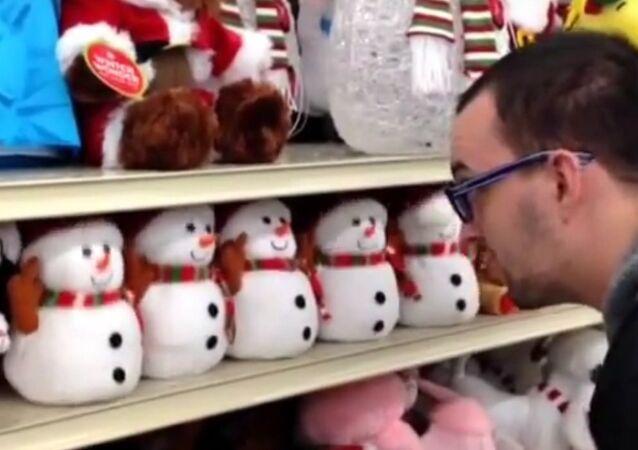 Hail Satan Snowmen Army of Satan - Hilarious!