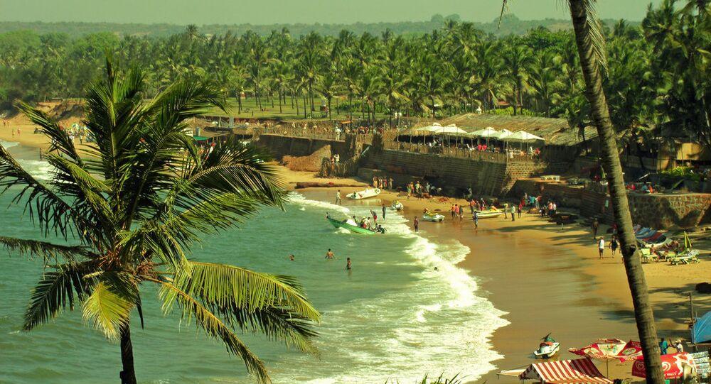View From Taj Fort Aguada Goa, India
