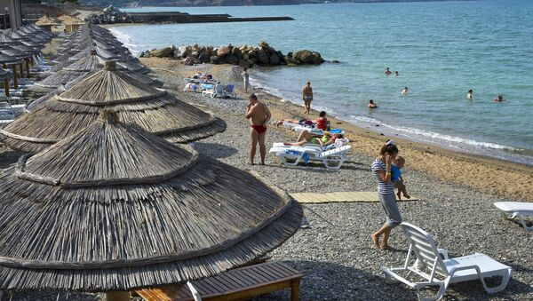 Relaxing at Crimean hotels - Sputnik International
