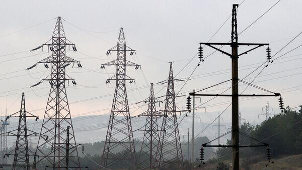 Power transmission lines - Sputnik International