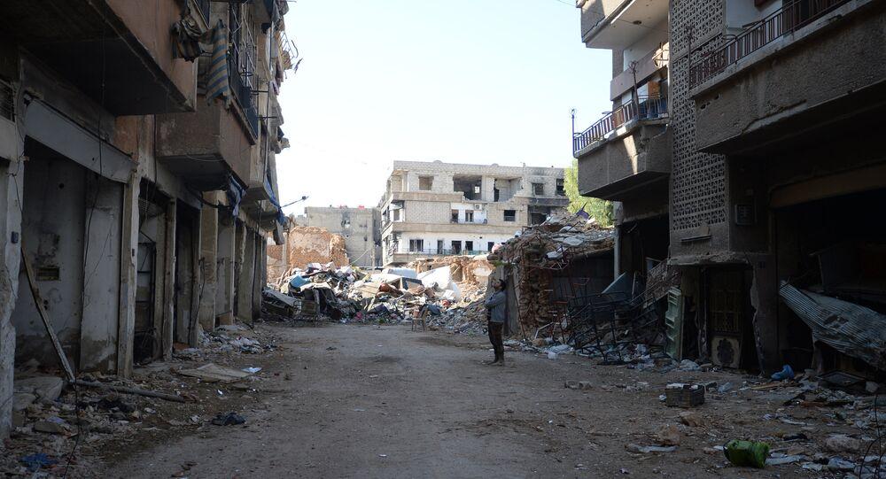 Darayya, a Damascus suburb