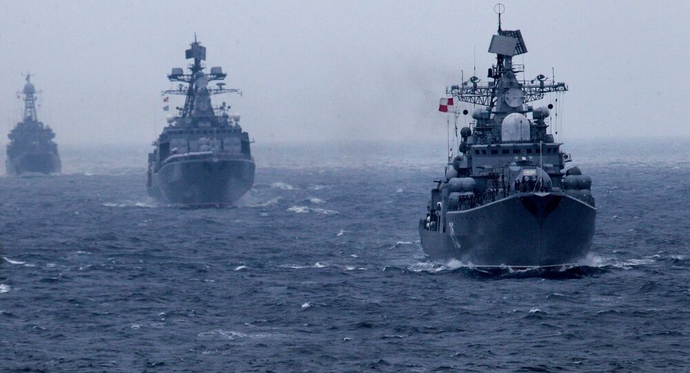 Russian Pacific Fleet warships