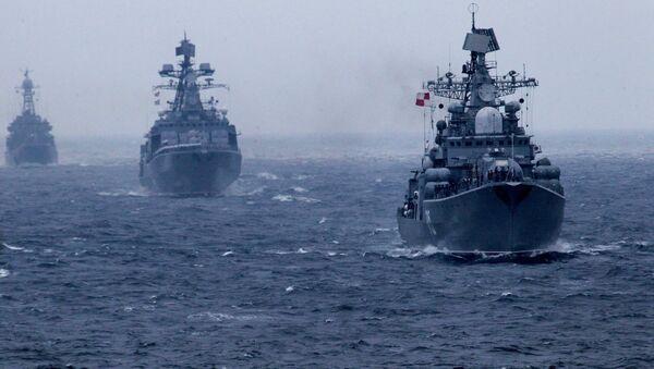 Russian Pacific Fleet warships - Sputnik International