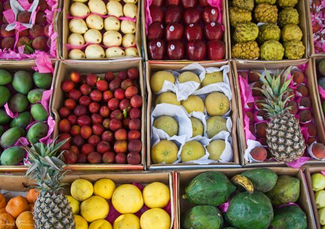 Fresh fruits from Egypt