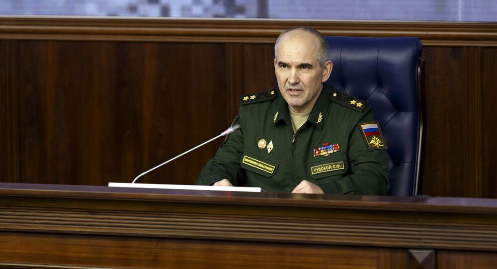 A briefing by Lieutenant General Sergey Rudskoy, Chief of the Main Operations Directorate of the Russian General Staff